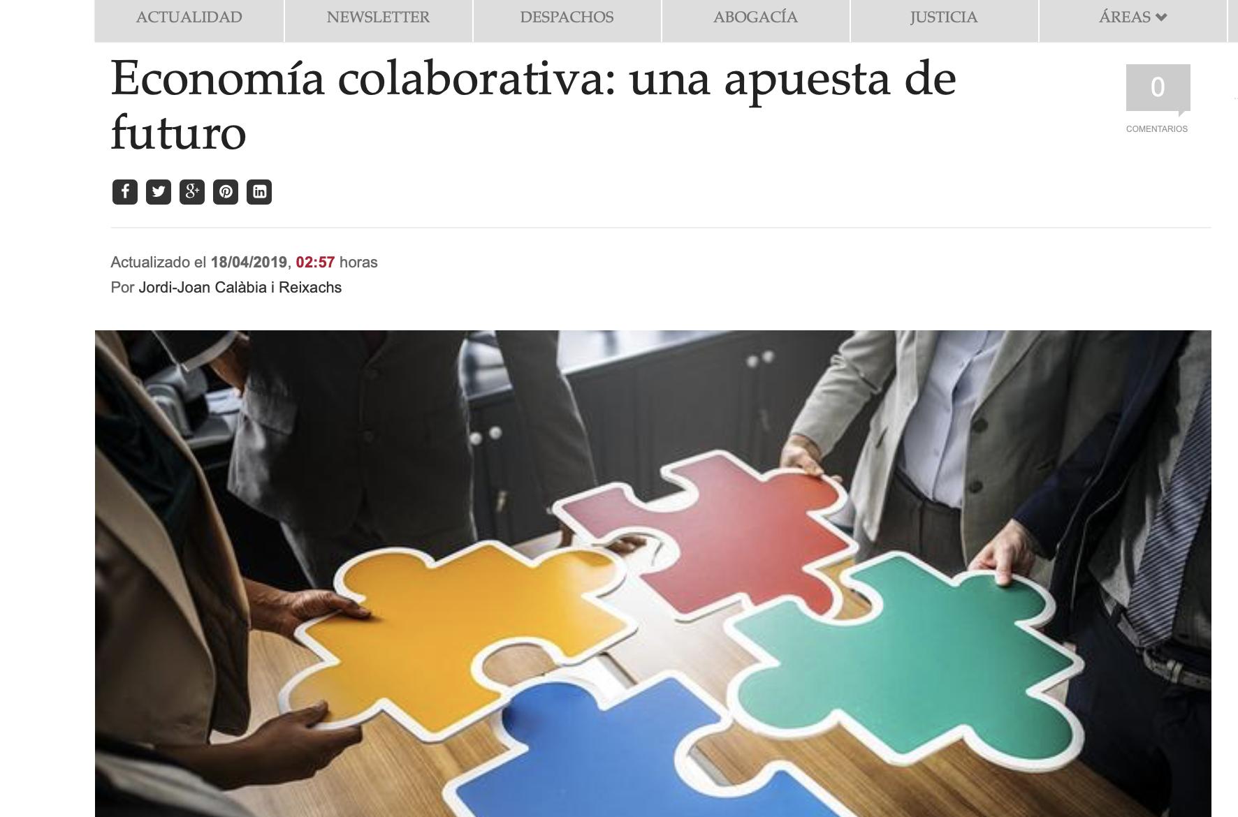 Jordi Joan Calabia economia colaborativa-law-trends